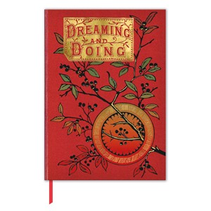 """Dreaming and Doing"" Book Cover Journal"