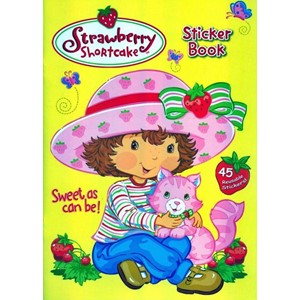 """Strawberry Shortcake"" Sticker Book"