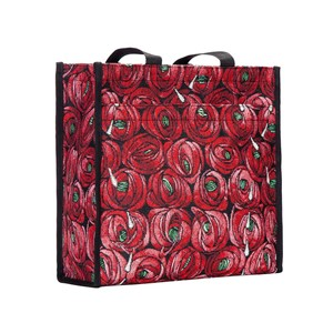 "Shopper Bag ""Mackintosh Rose & Tear Drop"""