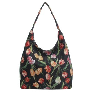 "Hobo Bag ""Tulip Black"""